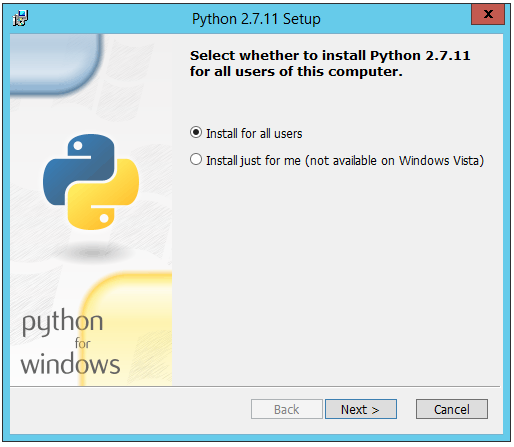 Selenium with Python tutorial: Setup window