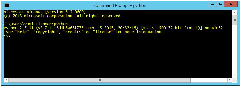 Selenium with Python tutorial: Command line message