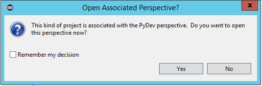 Selenium with Python: Open Associated Perspective?