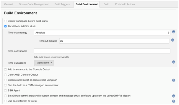 Jenkin CI Server: Jenkins Build Environment