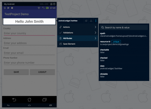 Implement Page Object Model using Appium & Java for Android Tests