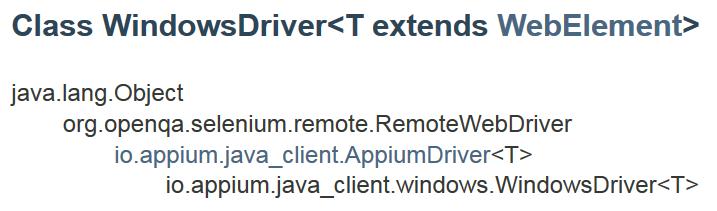 WinAppDriverWindowsDriver