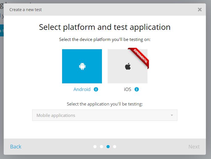 TestProject_Select platform