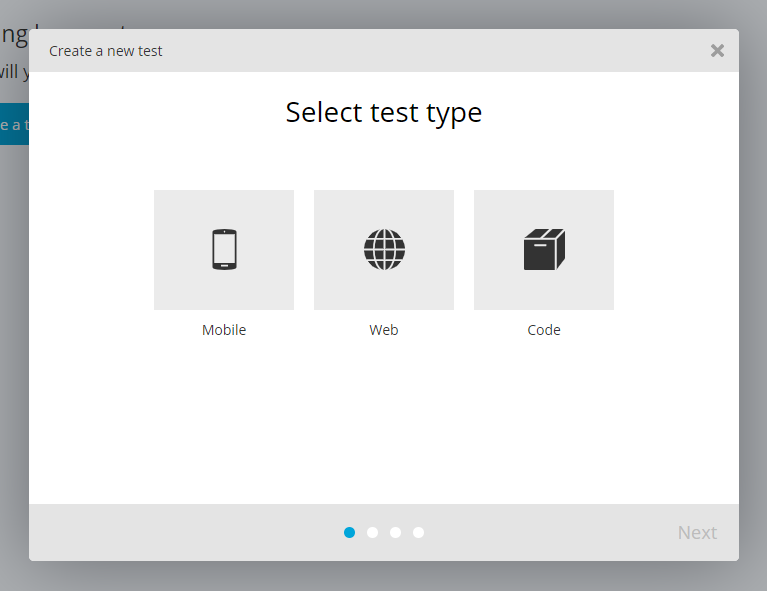 TestProject_Select test type