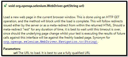 get Browser Method