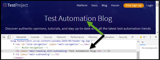 TestProject Test Automation Blog