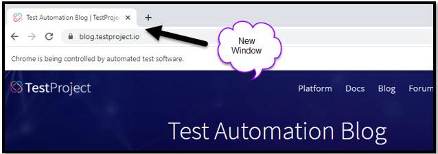 TestProject Blog