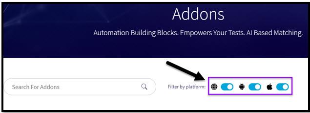 TestProject Addons