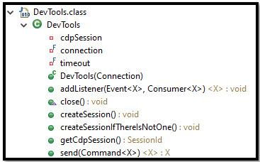DevTools Class