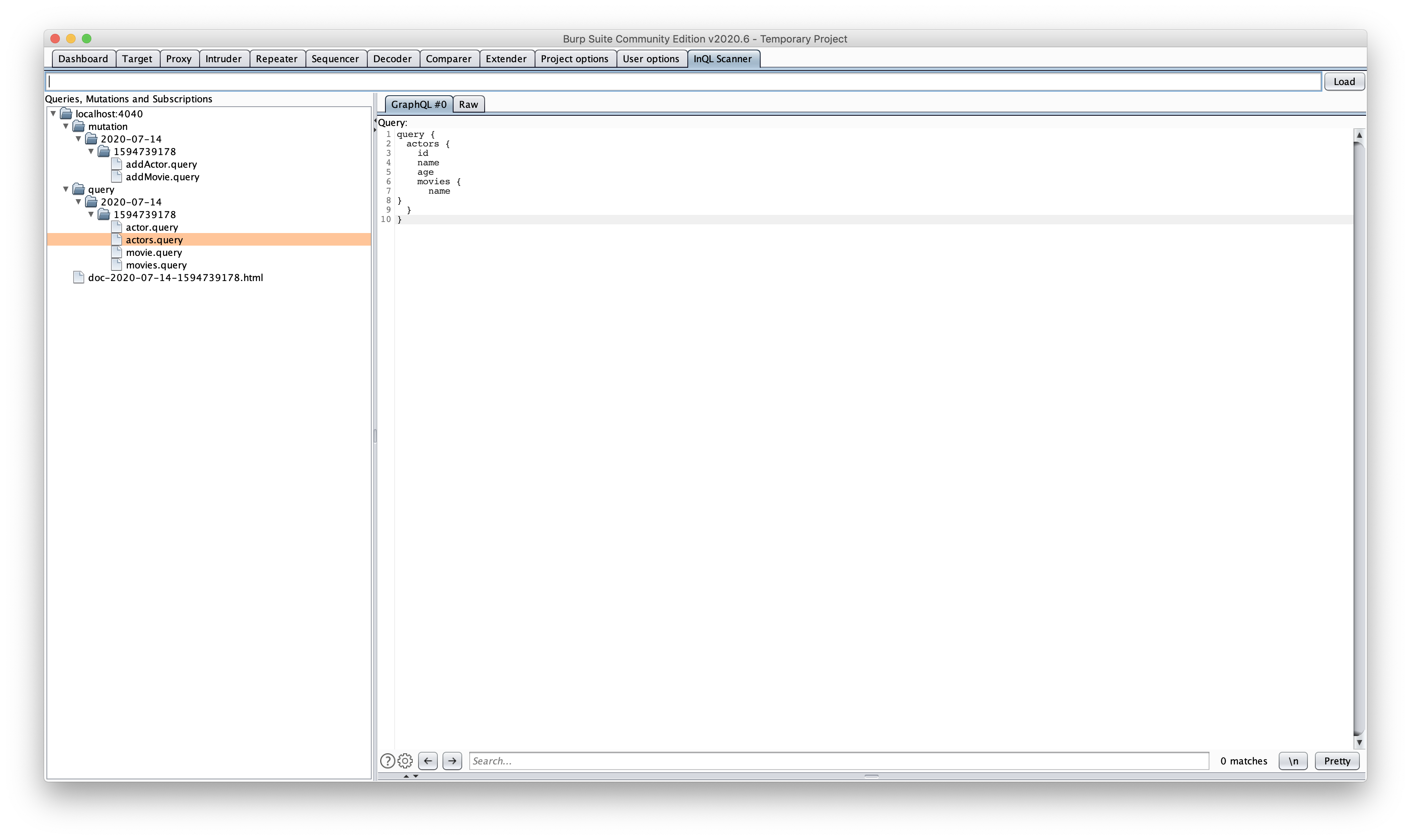 Security Audit with InQL