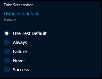 Take screenshots with TestProject