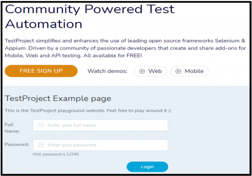 TestProject Reusability