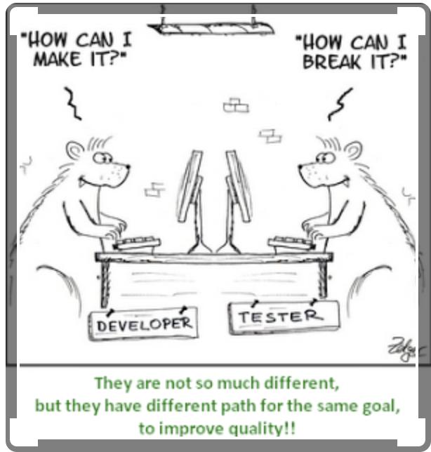 Software developer and tester