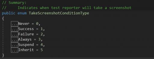 TestProject Take Screenshot
