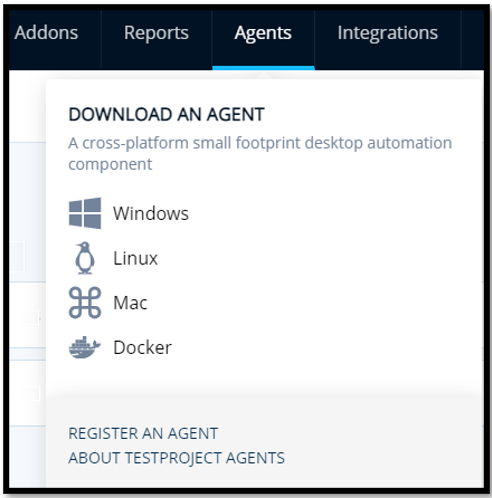 Download TestProject Agent