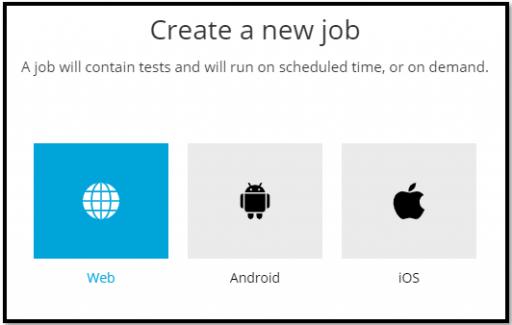 Create a TestProject job