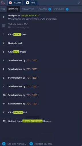 TestProject Test Recorder