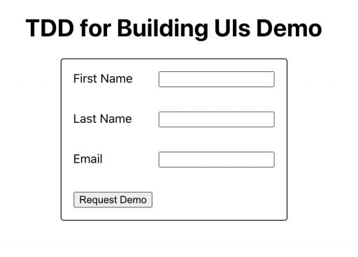 Mockup 1: Initial UI