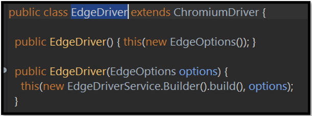 EdgeDriver