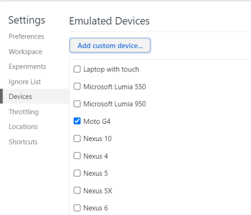 Emulated Devices