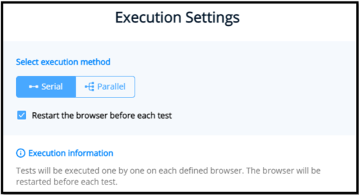 TestProject Serial Execution