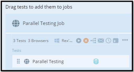TestProject Parallel Testing Job