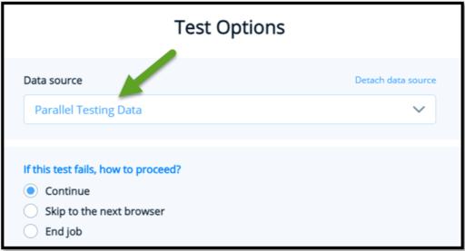 TestProject Parallel Testing Data