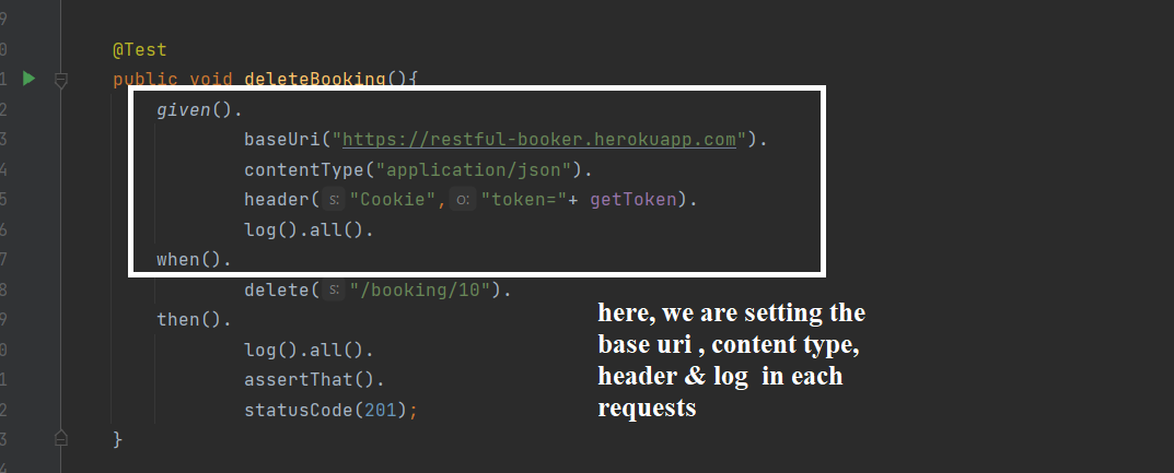 Rest API Automation: Request Specification