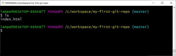 File in directory