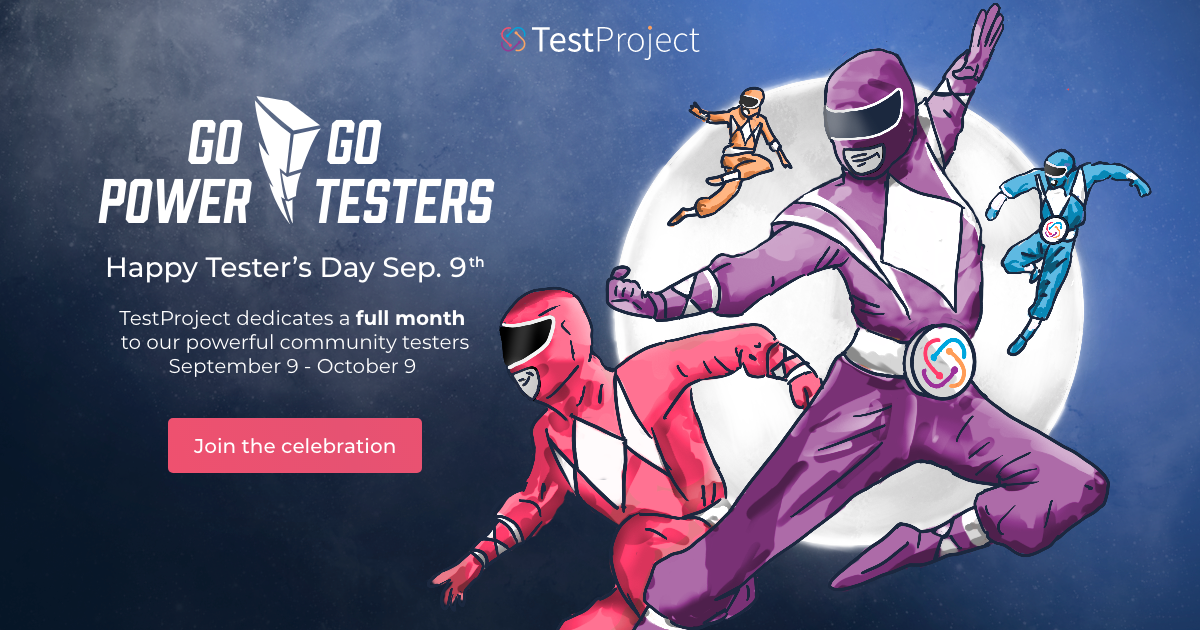 TestProject Happy Tester's Day 2021